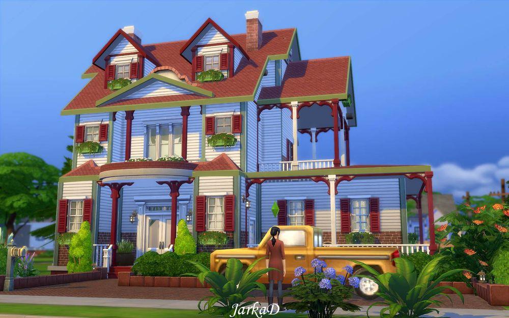 family house no 5 jarkad sims 4 blog. Black Bedroom Furniture Sets. Home Design Ideas