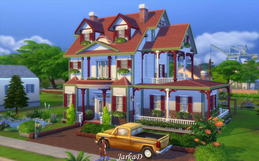 Family house no 5 jarkad sims 4 blog for The family house