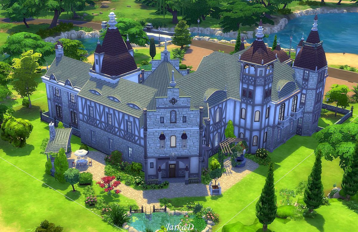 how to make a mansion in sims 4
